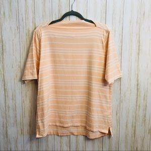 Brooks Brothers | Boat Neck Tee | Size XL